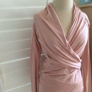 BCBG MaxAzria Silk/Cashmere Sweater Wrap